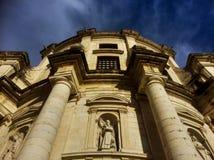 Façade nationale de Panthéon à Lisbonne Image stock