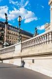 Façade occidentale de grand opéra (opéra Garnier), Paris, France Photos stock