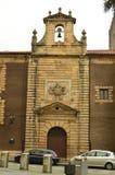 Façade principale de la chapelle de notre ³ n de Madame Of Guadalupe In Gijà Architecture, voyage, religion, villes photos libres de droits