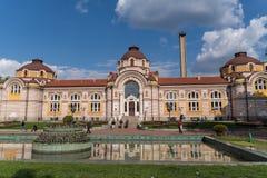 Fa?ade principale de Sofia History Museum Architecture Ce mus?e a consacr? ? l'histoire de Sofia est log? dans ancien magnifique photos libres de droits