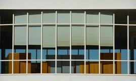 Façade rectangulaire d'hublot Image stock