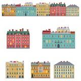 façades illustration libre de droits