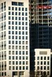 Façades ayant beaucoup d'étages Image stock