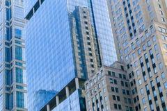 Façades de boucle de Chicago Image libre de droits