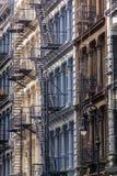 Façades de fonte dans Soho, Manhattan, New York CIT photographie stock