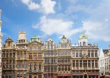 Façades de palais de corporations, Bruxelles photos stock