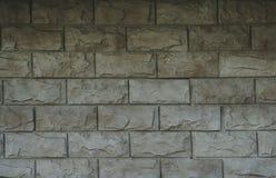 Façades de pierre et de brique des bâtiments, la pierre et les milieux et les textures de brique pour des concepteurs et la modél Images libres de droits