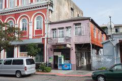 Façades de vieux bâtiments Photos libres de droits