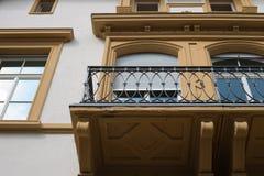 façades historiques en Allemagne du sud Images libres de droits