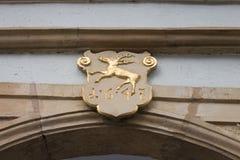 façades historiques en Allemagne du sud Images stock