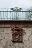 façades historiques en Allemagne du sud Image stock