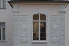 façades historiques en Allemagne du sud Photographie stock libre de droits