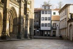 Façades Lamego Portugal image libre de droits
