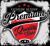 Façonnez la typographie de société de conception, graphiques de T-shirt, vecteurs Images libres de droits