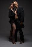 Façonnez les couples Photos libres de droits
