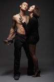 Façonnez les couples Photo stock