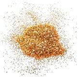 Faísca dourada do brilho Imagem de Stock Royalty Free