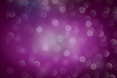 Faísca roxa Fotografia de Stock