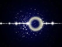 Espaço com estrelas Fotografia de Stock