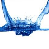 Faíscas da água Fotografia de Stock