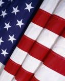 Fałdowa Flaga Amerykańska Zdjęcia Stock