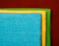 fałdowi ręczniki zdjęcie stock