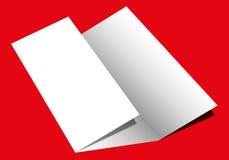Fałdowy papier Obrazy Stock