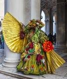 Fałszuje przebranie - Wenecja karnawał 2014 zdjęcie royalty free