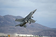 FA 18 Superhornet 1 Royalty Free Stock Photo
