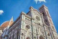 Fa?ade de Duomo Santa Maria Del Fiore image stock