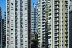 Fa?ade de la construction moderne Ville de Sao Paulo, Br?sil image libre de droits