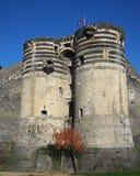 Fa arrabbiare il castello, Francia Immagini Stock