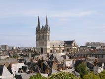 Fa arrabbiare la vista della cattedrale Fotografia Stock Libera da Diritti