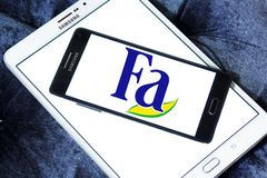 Fa brand logo stock photo