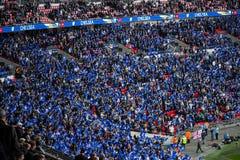 FA CUP Semi-final Chelsea v Tottenham royalty free stock image