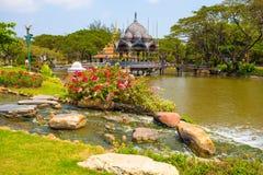 fa il giardinaggio di Dio, città antica, Samut Prakan, Tailandia Immagini Stock