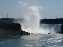 Fa scendere il du per mezzo di uno scivolo Niagara Fotografia Stock Libera da Diritti