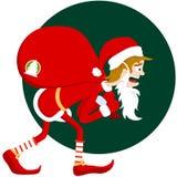 fałszywy Santa Zdjęcia Royalty Free