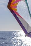 Fa windsurf la vela Fotografia Stock Libera da Diritti