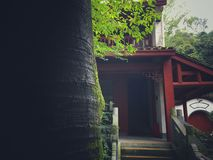 FA Xi Temple in HangZhou stock image