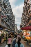 Fa Yuen街 免版税库存图片
