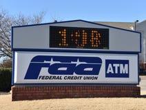 FAA Credit Union federale immagine stock libera da diritti