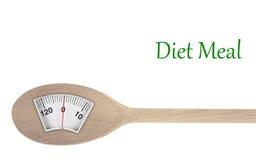 Faça dieta a refeição Imagens de Stock Royalty Free