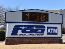 FAA Federaal Credit Union royalty-vrije stock afbeelding