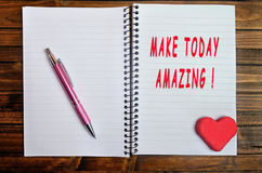 Faça hoje a surpresa! Imagem de Stock Royalty Free