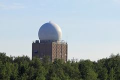 FAA-radarkupol Royaltyfri Fotografi