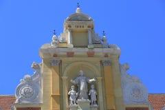 Façade baroque Photos libres de droits