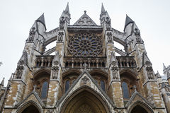 Façade d'Abbaye de Westminster Photographie stock