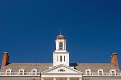 Façade de construction d'université Image libre de droits