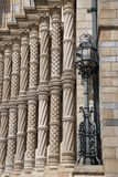 Façade de musée national d'histoire Photo libre de droits